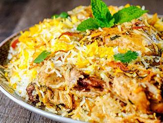 Indian Biryani Specialties